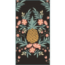 towel beach rectangular small 150x70 Pineapple REC