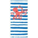 towel rectangular small beach 150x70 Octopus