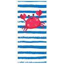 towel beach rectangular small 150x70 Crab REC47