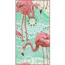 towel beach rectangular small 150x70 Flamingos R