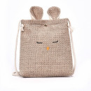 wholesale Handbags: Tote bag with a string T211BRWOR