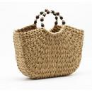 Großhandel Handtaschen: Wicker Tasche XXL schöne T204CZB