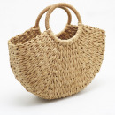 Wicker hand bag T204