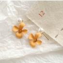 mayorista Joyas y relojes: Pendientes de oro albaricoque K1290ZO