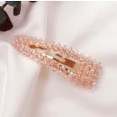 grossiste Accessoires cheveux: Pince à cheveux avec cristaux de rose SP87R