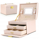 wholesale Jewelry & Watches: Jewelry box, powder-colored case