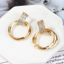 Gold earrings K1462Z