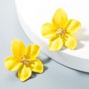 Ear earrings Flowers Floral K1488ZO