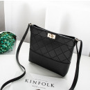 Black mini shoulder bag T218CZ