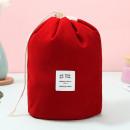 Cosmetics organizer, beautician, red bag
