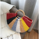 wholesale Handbags: Beautiful wicker bag T209