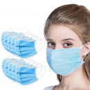 Protective mask, hygienic 3-layer 50 pcs