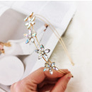 wholesale Hair Accessories: Hair band gold crystals O290