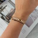 Gold plated steel surgical bracelet