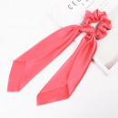 Pink elastic hair scarf pink PIN UP GUM5CR
