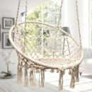 Hanging chair stork nest BOHO hammock, swing