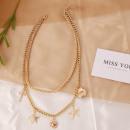 Großhandel Schmuck & Uhren: Halskette aus zarten Perlen N712