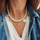 N708 collar de perlas delicadas