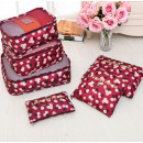 wholesale Suitcases & Trolleys: SET OF 6 ORGANIZER BAGS FOR KS21WZ2