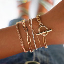 A set of 4in1 bracelets BOHO B480