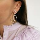 wholesale Earrings:GLAM earrings K1461Z