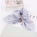 Elastic hair scarf short with PIN UP GUM3 stripes