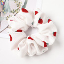 Hair elastic scarf strawberry PIN UP GUM41WZ3