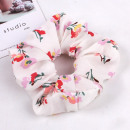 Elastic hair scarf flowers PIN UP GUM41WZ4