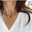 NECKLACE Chain with ring N703