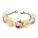 wholesale Drugstore & Beauty: Wreath headband wreath rich flowers W77R