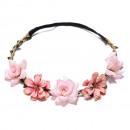 Wreath headband wreath rich flowers W78R