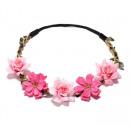 wholesale Drugstore & Beauty: Wreath headband wreath rich flowers W78F