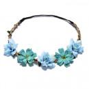 Wreath headband wreath rich flowers W78N