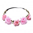 Wreath headband wreath rich flowers W80R