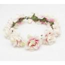 Wreath headband wreath rich flowers W81B