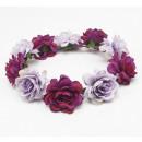 Wreath headband wreath rich flowers W81FIO