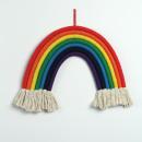 wholesale Decoration: Hanging wall decoration rainbow macramé OZD07
