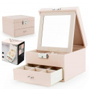 wholesale Jewelry Storage: Casket case jewelry organizer STEN