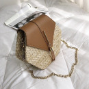 wholesale Bags & Travel accessories: Wicker bag on shoulder T170BR beautiful