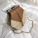 mayorista Maletas y articulos de viaje: Bolsa de mimbre en hombro T170BR hermosa