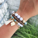 wholesale Jewelry & Watches: Bracelet soft boho charm B501K