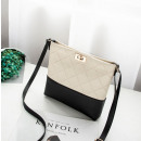 Mini shoulder bag cream T218K