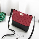 Shoulder bag mini claret T218CZE