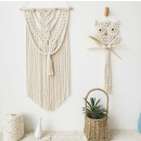 Macrame hanging decoration on the wall WN5