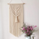 Macrame hanging decoration on the wall WN7