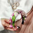 wholesale Drugstore & Beauty: Lace pin up turban headband O346R