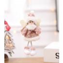 CHRISTMAS ANGEL hanging on a Christmas tree