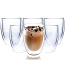 THERMAL GLASSES 350ML FOR LATTE COFFEE 6-PIECE SET