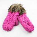 Großhandel Handschuhe:ROLLEN MIT ROSA