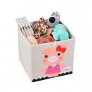groothandel Huishouden & Keuken: Stijve ,speelgoedcontainer vilt, piggy girls